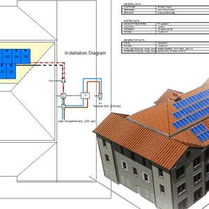 photovoltaik planungssoftware solarius pv acca software. Black Bedroom Furniture Sets. Home Design Ideas