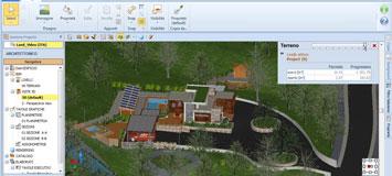 Bim software edificius acca software for Software progettazione giardini 3d free