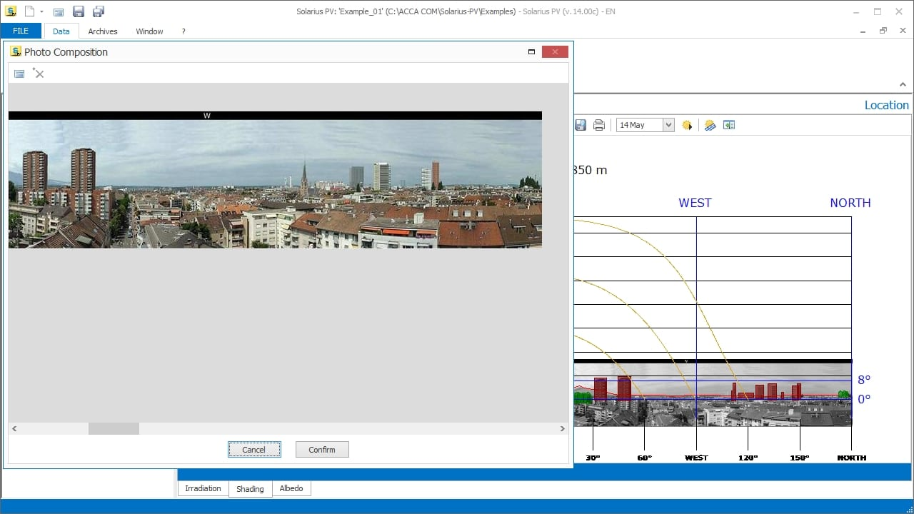 Solar Pv Design Software Solarius Acca Single Line Electrical Diagram Photovoltaic Shading Calculation