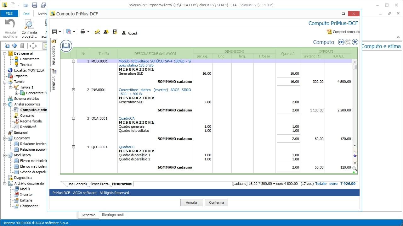 Solar Pv Design Software Solarius Acca Wiring Diagram Photovoltaic System Cost Estimate