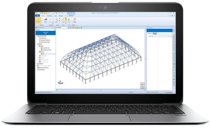 Steel design software