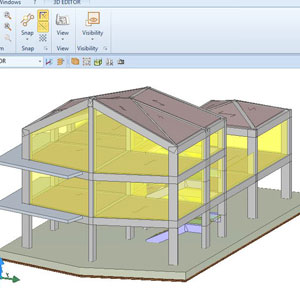 The first structural calculations BIM