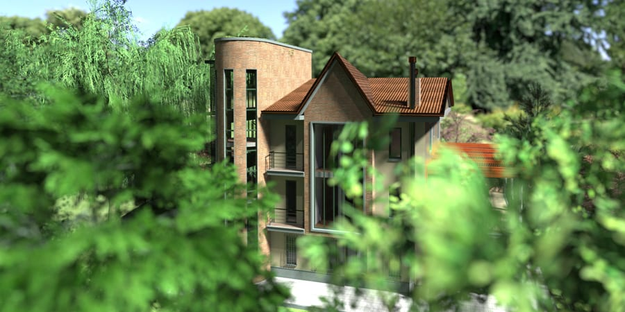 Render do jardin - Edificius LAND - Acca software
