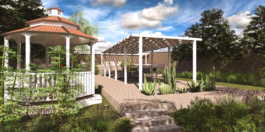 Modeling Garden - Edificius LAND - Acca software