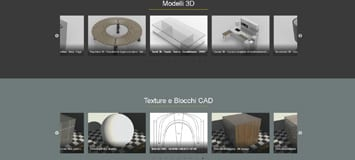 Textures library, CAD blocks and Free 3D Model resources