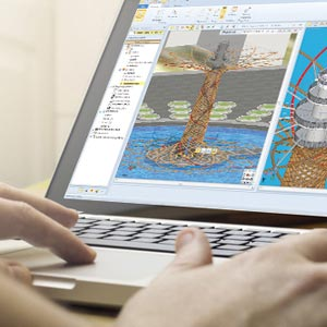 BIM software con Real-Time Rendering - Edificius