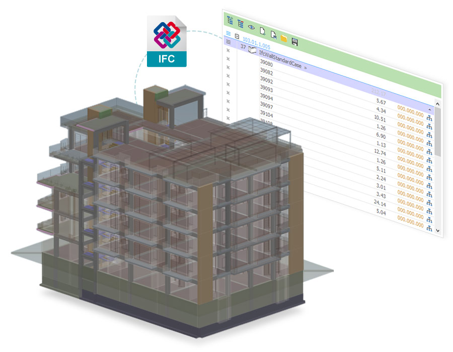 sharing the IFC project - Edificius - ACCA software