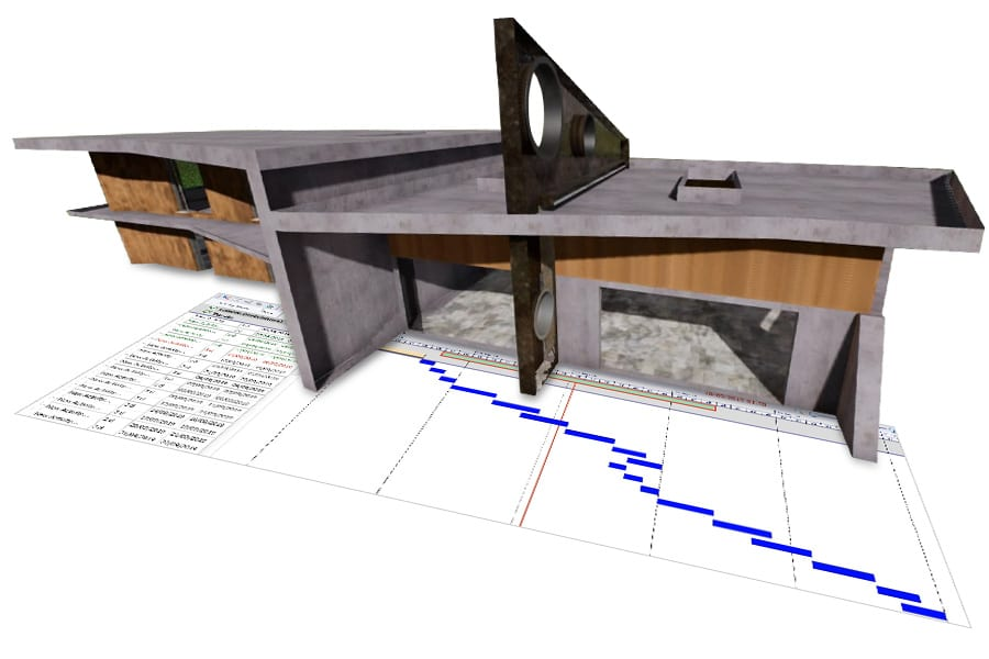 real-time presentations of 4d model - Edificius - ACCA software