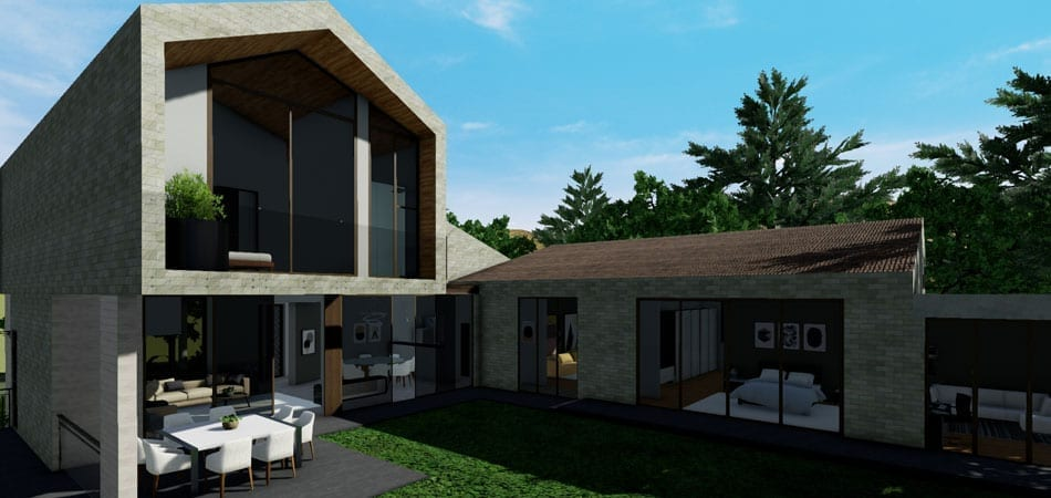 3d rendering software edificius acca software for 3d esterno casa
