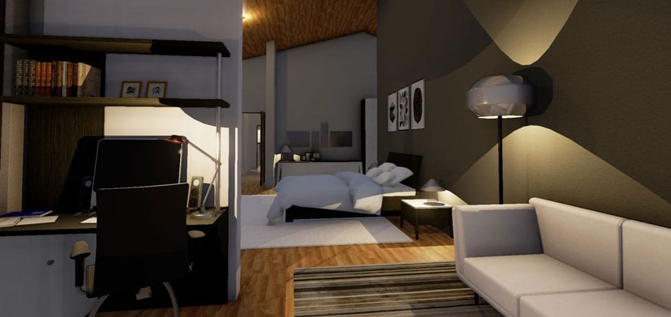 3D-Rendering Software Innenarchitektur(10)