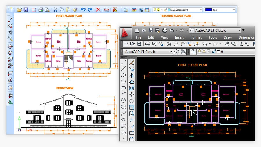 Draw and edit CAD - PriMus TAKEOFF - ACCA software