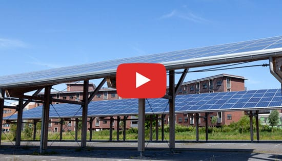 PV systems mounted on parking shelters (canopies) | Solarius PV | ACCA software
