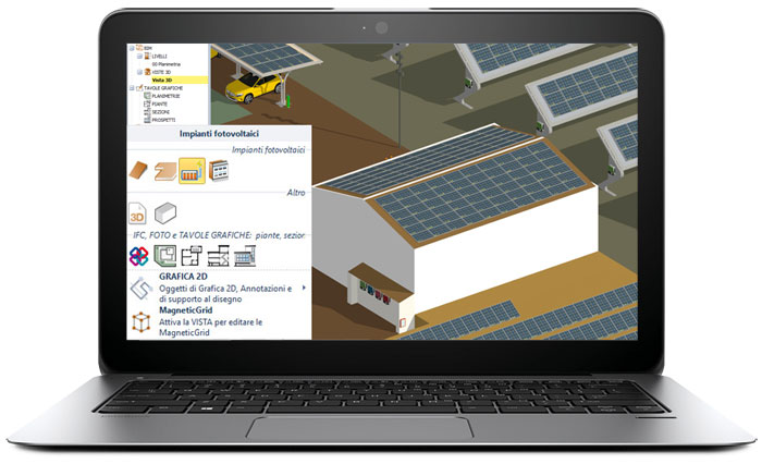 Software for photovoltaic system design