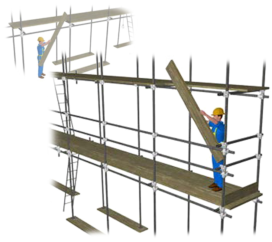 Assembly and disassembly procedures - CerTus SCAFFOLDING - ACCA software