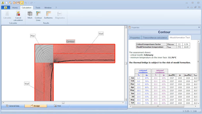 Thermal Bridge Software