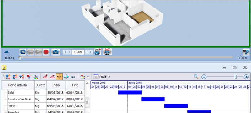 usBIM.gantt | ACCA software