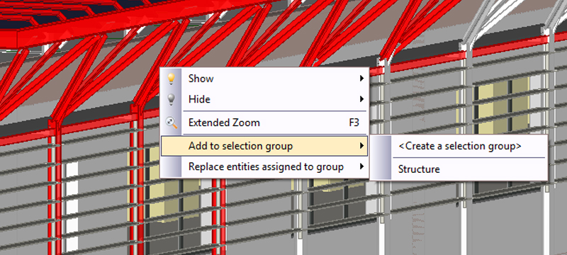 Create groups and selection filters - usBIM.viewer+ - ACCA software
