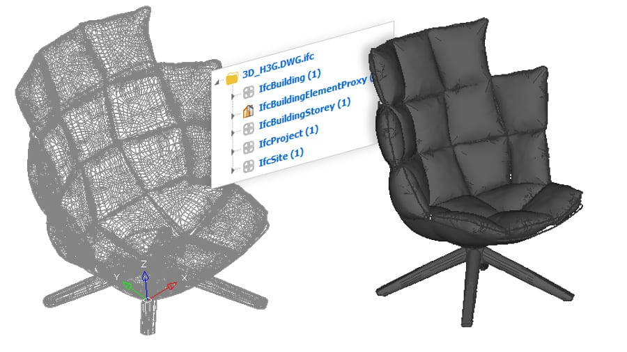 Sie konvertieren 3D-Modelle in das IFC-Format - usBIM.viewer+ - ACCA software